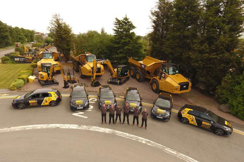 Finning mobile parts team
