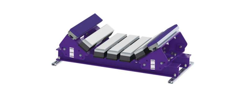 Conveyor modular impact bed