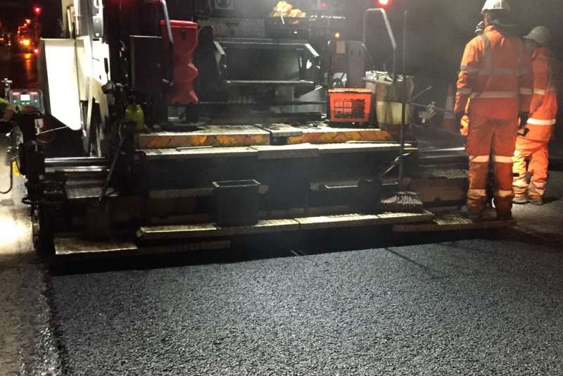 Hanson ERA warm-mix asphalt