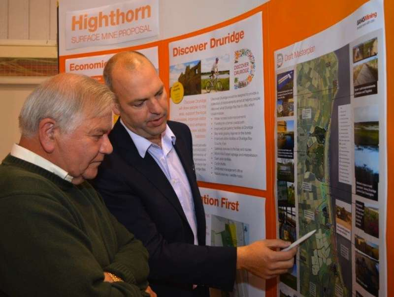 Highthorn surface mine plans submitted