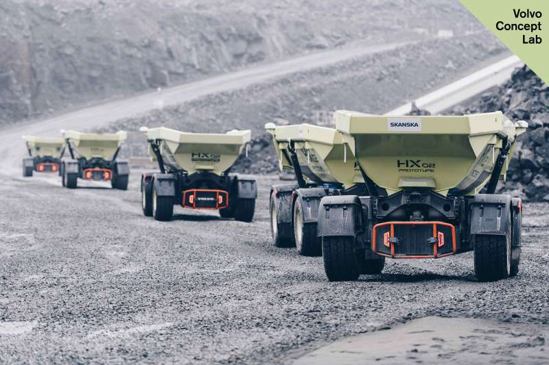 HX2 fleet of autonomous load carriers