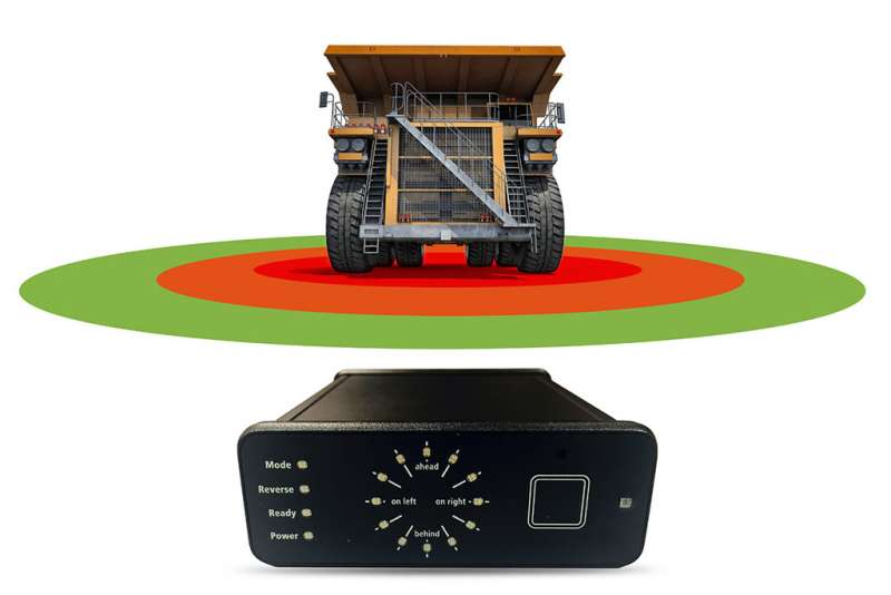 HxGN MineProtect Collision Avoidance System