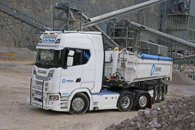 Scania/Wilcox combo with Hyva tipping gear