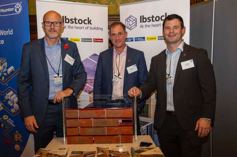 Ibstock attending the Parliamentary event