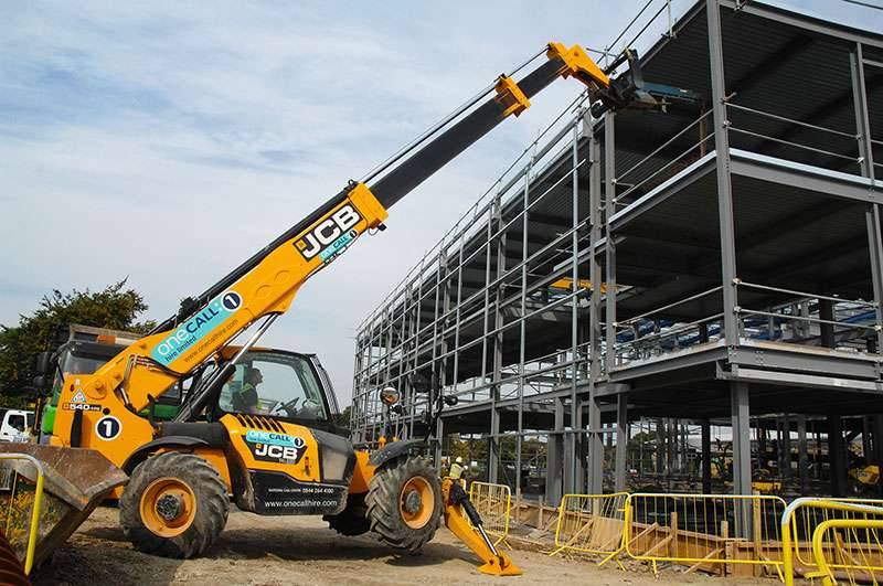 One Call Hire Invest In Jcb Telehandlers Agg Net