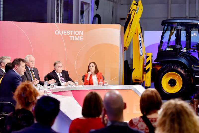Question Time at JCB