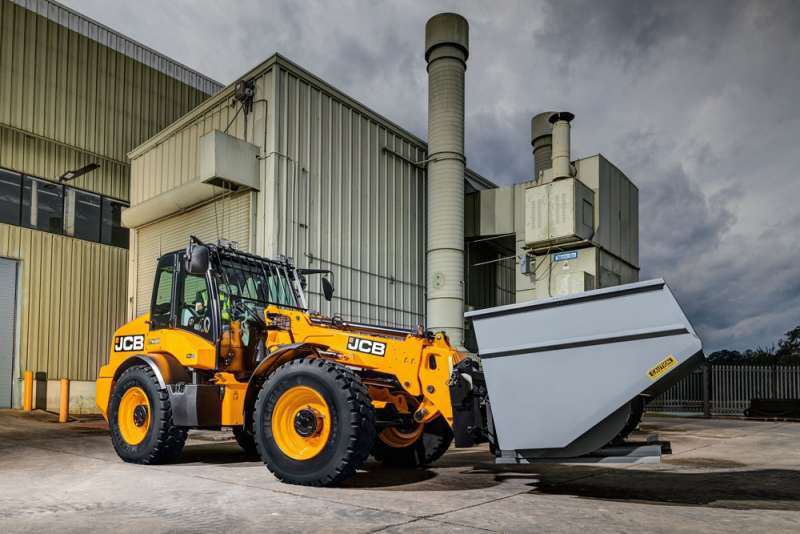 JCB TM320 telescopic wheel loader