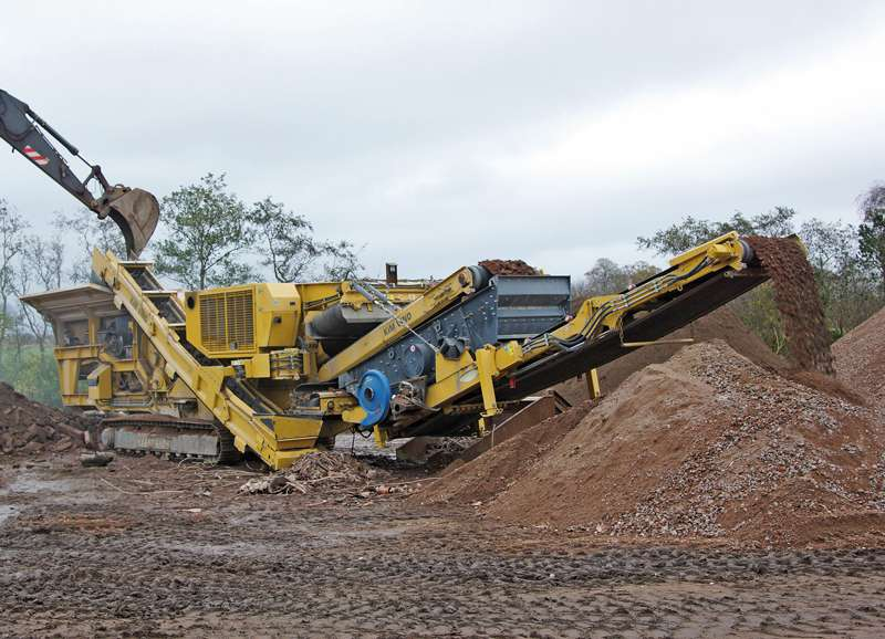 Keestrack Destroyer impact crusher