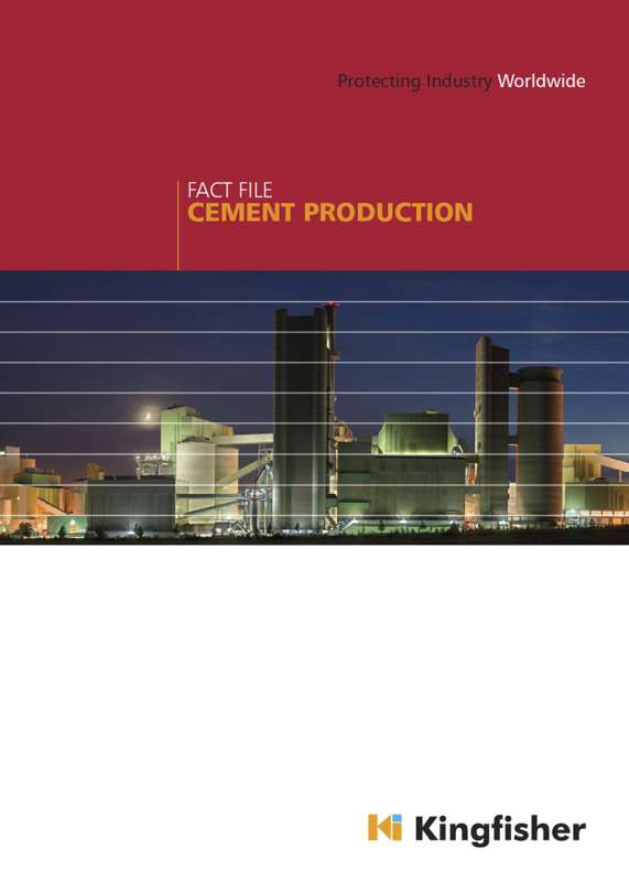 Kingfisher cement manufacturing wear-protection brochure