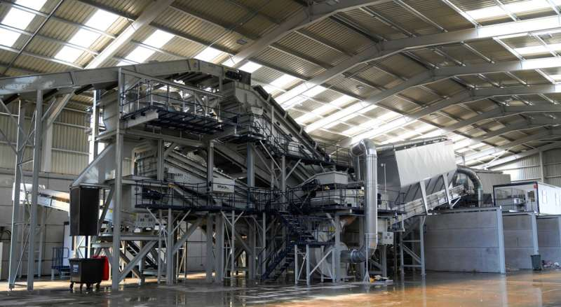 New C&D waste-recycling plant for Remondis