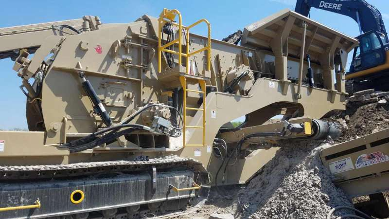 KPI FT4250 mobile impact crusher