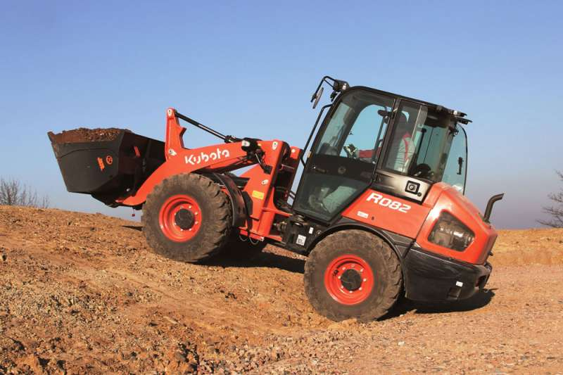 Kubota R082 compact wheel loader