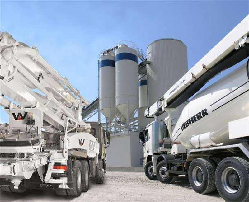 Liebherr acquire concrete pump manufacturer
