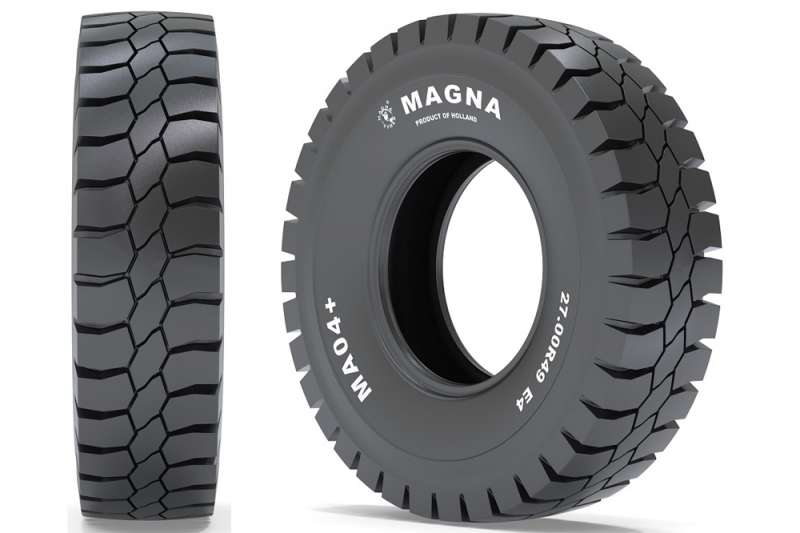 Magna MA04+ off-the-road tyre