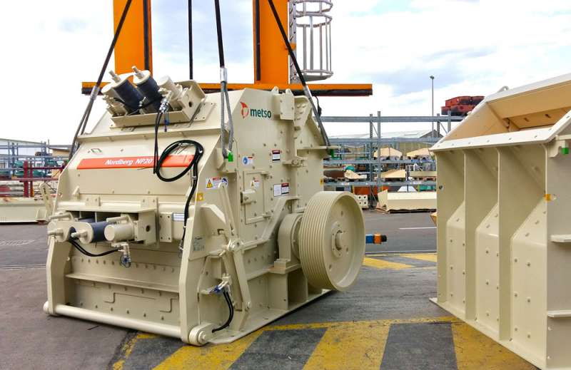 Metso Nordberg MP20 impact crusher