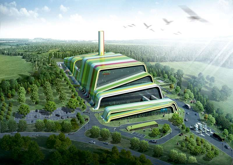 Posco waste-to-energy plant in Poland