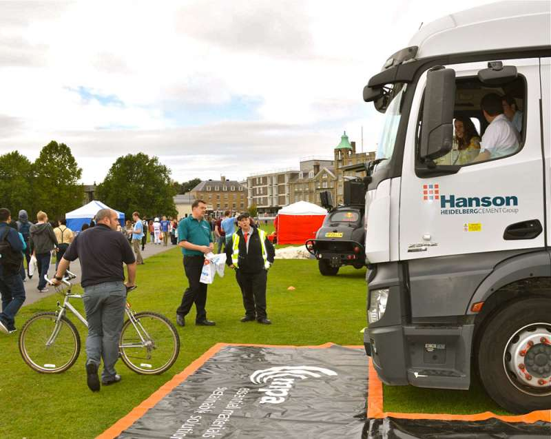 Cycle Safe event at Cambridge University