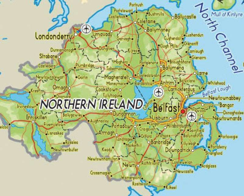 New Year Cheer For Northern Ireland S Roads Agg Net