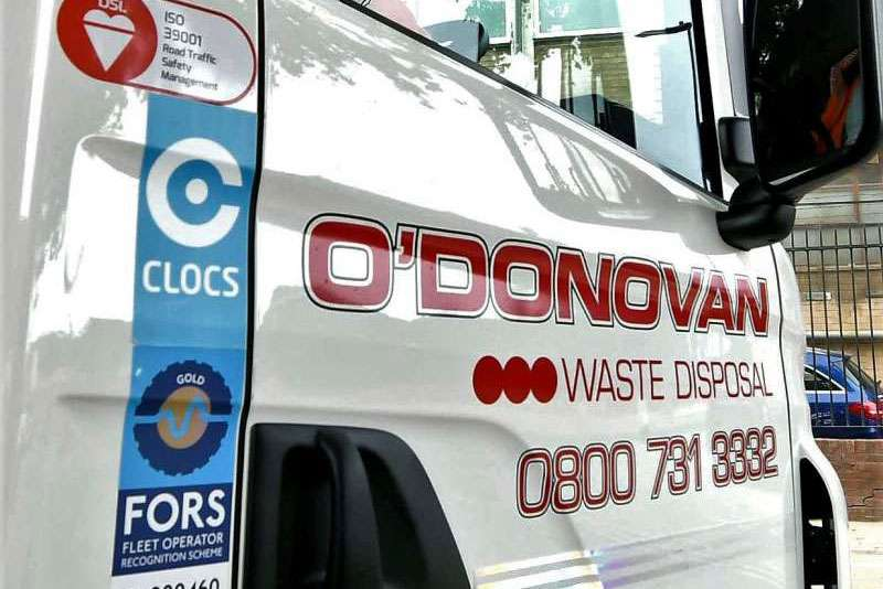 O'Donovan FORS Gold-accredited business