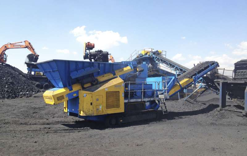 DoppiaTrac double roll crusher