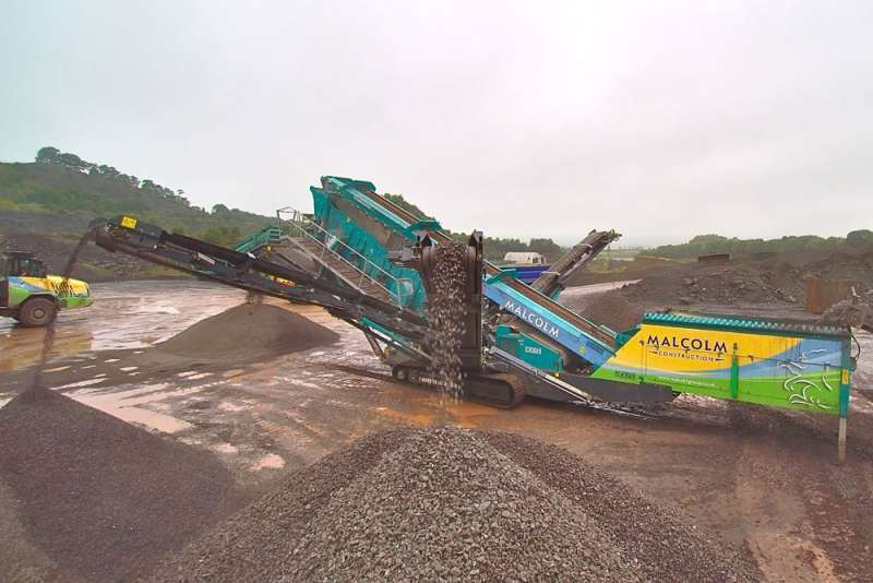 Powerscreen Chieftain 2200 mobile screen