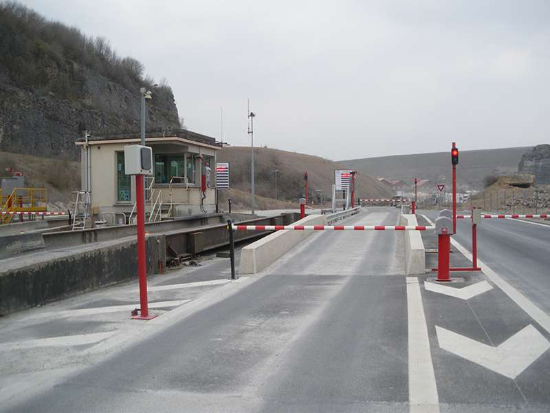 Precia-Molen weighbridge management system