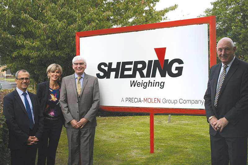 Precia-Molen acquire Shering Weighing