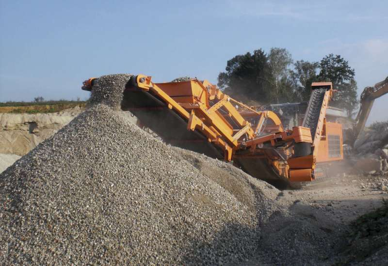 Rockster Recycler impact crusher