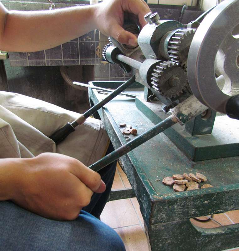 Ronez granite used for hand-crafted jewellery