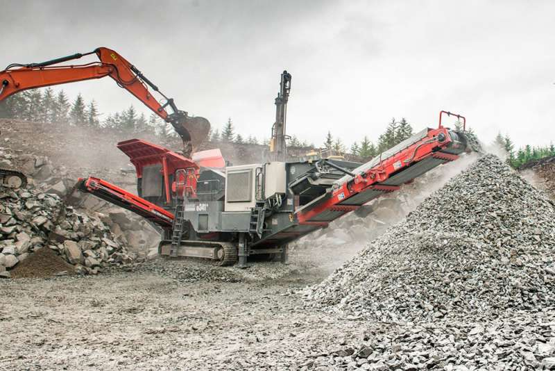 Sandvik QJ341+ jaw crusher