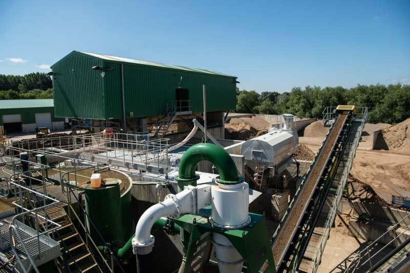 Sheehan Group recycling plant