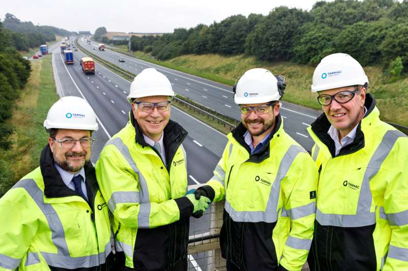 Tarmac secure A1 contract
