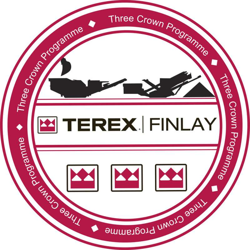 Terex Finlay 3 Crown logo