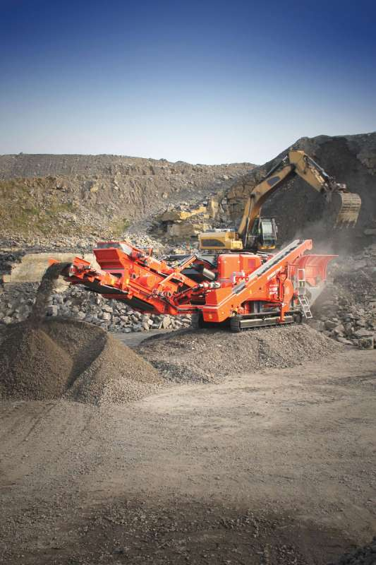 Terex Finlay I-100RS horizontal impact crusher