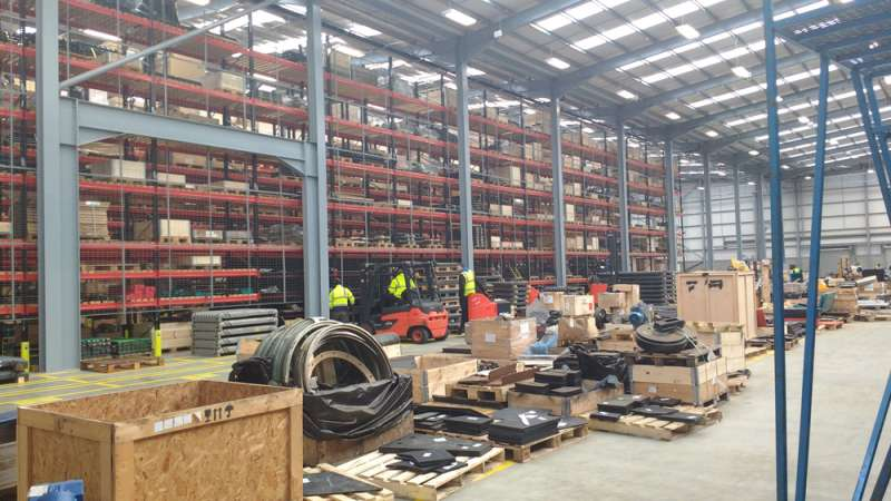 New global parts facility for Terex MP   Agg-Net