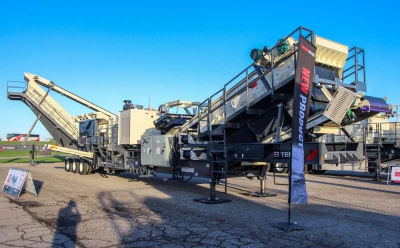 Terex hortizontal-shaft impactor