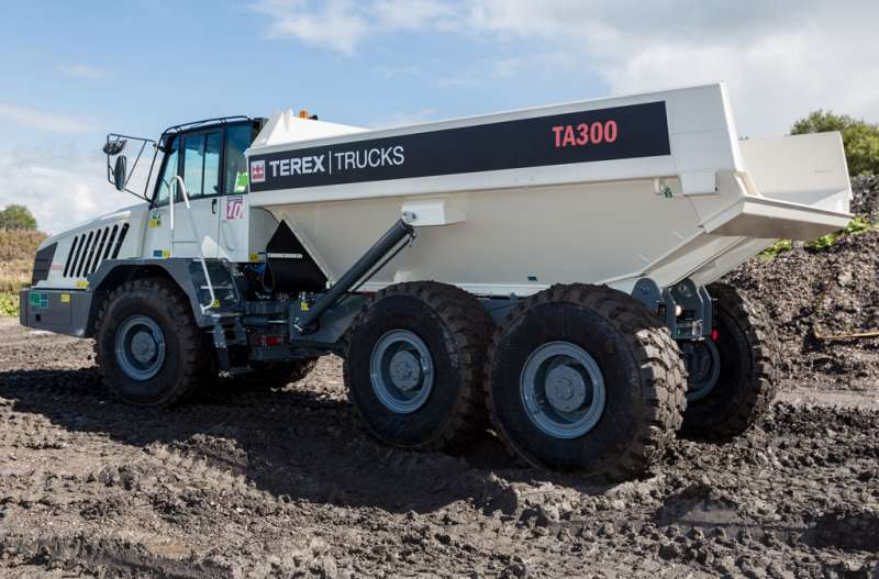 Terex TA300 articulated hauler