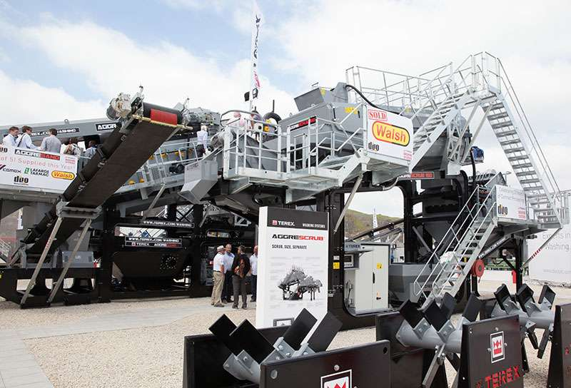 Terex Washing Systems at Hillhead 2014