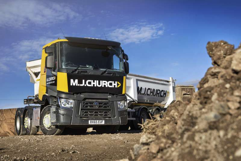 Used T460 Renault truck