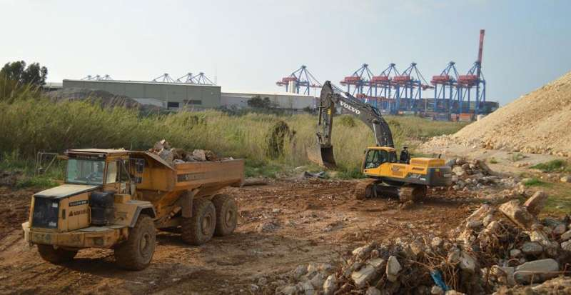 Volvo machines in Lebanon