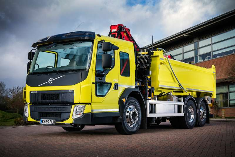 Volvo FE Low Entry Cab tipper
