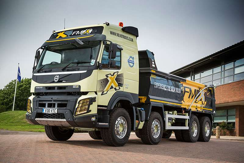 Volvo trucks on show at TIP-Ex 2015 | Agg-Net