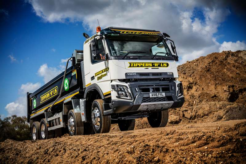 New Volvo FMX trucks for Tippers 'R' Us   Agg-Net