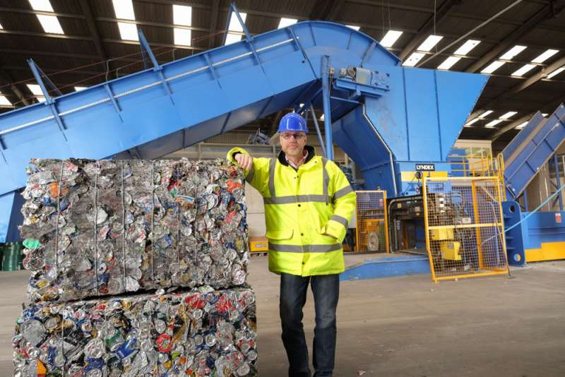 Ward Recycling Upgrade Mrf And Glass Reprocessing Plant