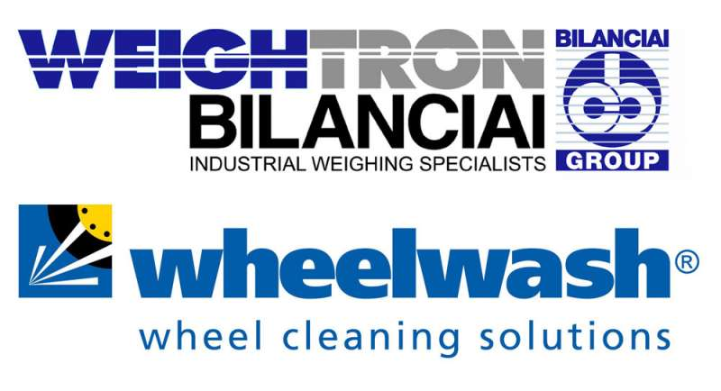 Weightron and Wheelwash logos