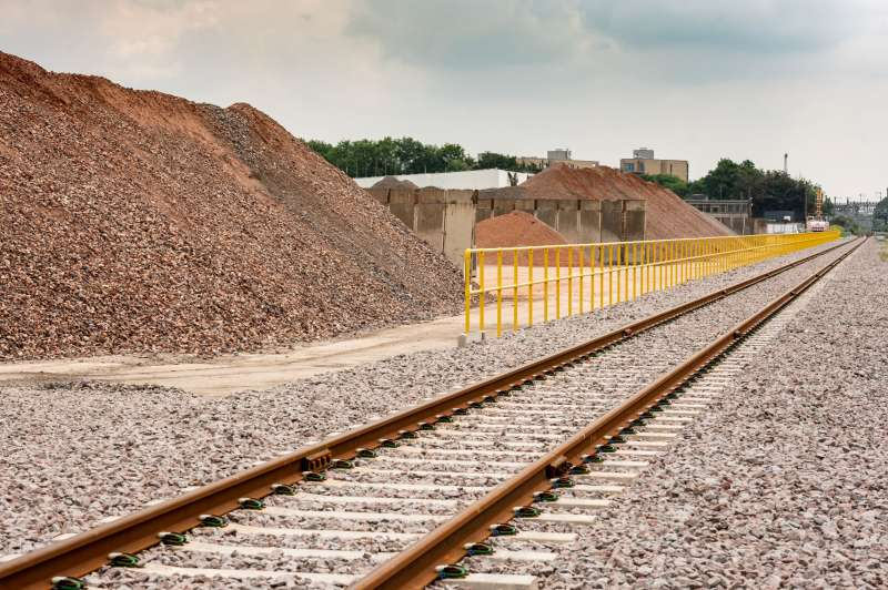 West Drayton is the second aggregates rail facility Hanson have opened in 2021