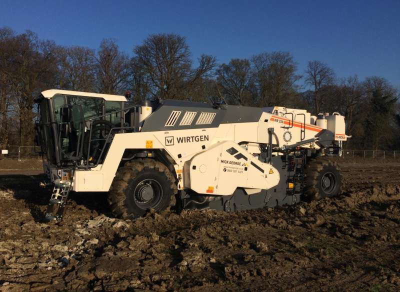 Wirtgen WR250i S-Pack ground stabilization machine