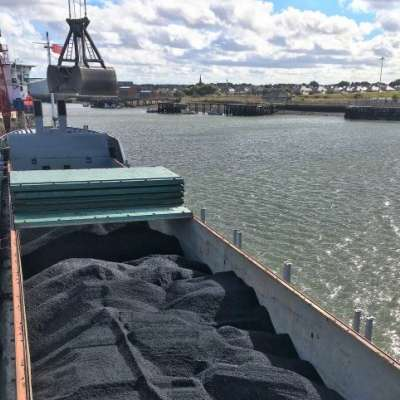 Coal loading at the Port of Blyth